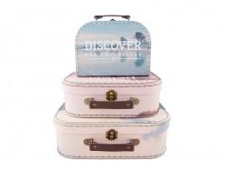Acheter Set de 3 valisettes - wanderlust - 27,90€ en ligne sur La Petite Epicerie - 100% Loisirs créatifs