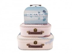Set of 3 suitcases - wanderlust