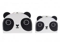 Set de 2 valisettes - panda Sass&Belle - 1