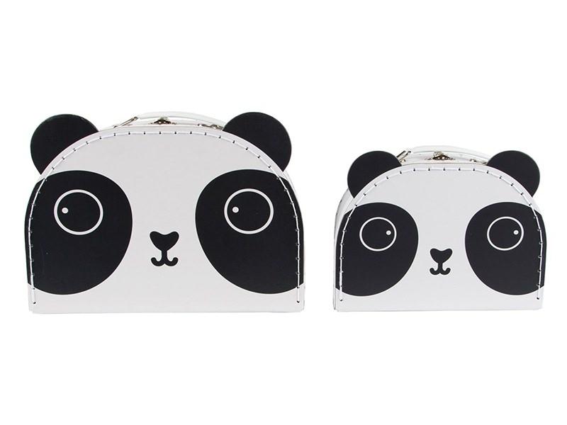 Acheter Set de 2 valisettes - panda - 22,99€ en ligne sur La Petite Epicerie - Loisirs créatifs