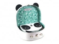 Set of 2 suitcases - panda