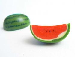 Wassermelone aus Fimo