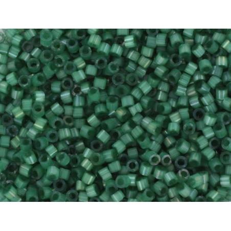 Miyuki Delicas 11/0 - vert émeraude soyeux 1814 Miyuki - 1