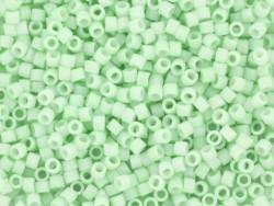 Miyuki Delicas 11/0 - vert menthe clair opaque mat 1516