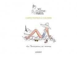 My Little Paris colouring postcards