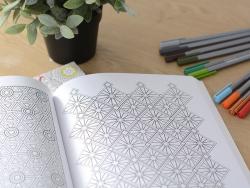 """Livre """"Carnet de motifs Zen antistress à colorier"""""""