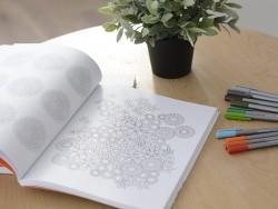 """Livre """"Carnet de Fleurs antistress à colorier"""""""