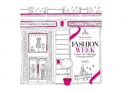 "Colouring book - ""Fashion Week"" (in French)"