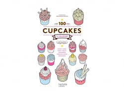 """Colouring book - """"100 cupcakes à colorier"""" (in French)"""