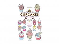 """Livre de coloriage """"100 cupcakes à colorier"""""""
