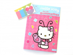 "Livre ""Hello Kitty mes 150 gommettes"""