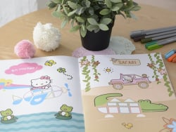 "Book - ""Hello Kitty mes 150 gommettes"" (in French)"