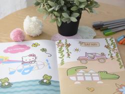 Cartes postales à colorier My Little Paris