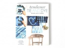 "Book - ""Tendance tie and dye"" (in French)"
