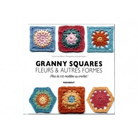 """Livre """" Granny squares fleurs & autres formes"""""""