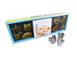 "Baking set - ""Biscuits de tasse"" (in French)"