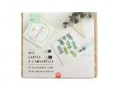 Acheter Kit MKMI - Mes cartes à l'aquarelle - DIY - 16,99€ en ligne sur La Petite Epicerie - 100% Loisirs créatifs