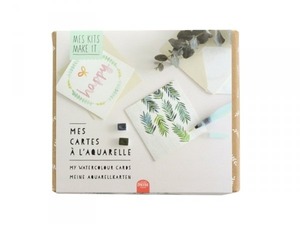 Kit MKMI - Mes cartes à l'aquarelle - DIY La petite épicerie - 1