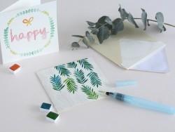 Kit MKMI - Mes cartes à l'aquarelle - DIY La petite épicerie - 3