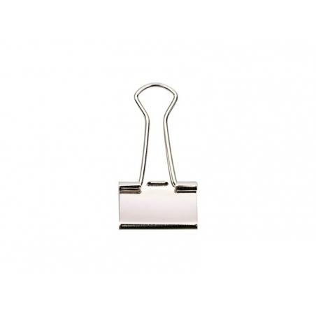 Acheter 12 pinces clip argentées 25 mm - 4,70€ en ligne sur La Petite Epicerie - Loisirs créatifs