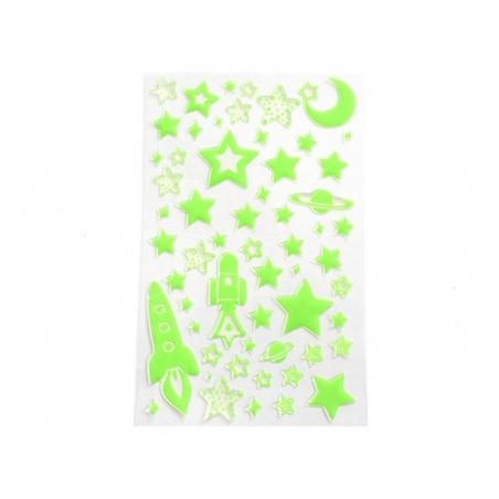 Acheter Stickers phosphorescent espace - 2,95€ en ligne sur La Petite Epicerie - 100% Loisirs créatifs