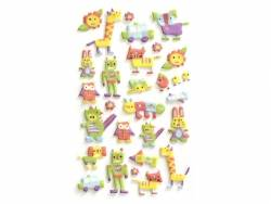 Stickers fantaisies Magic Crayon 3D
