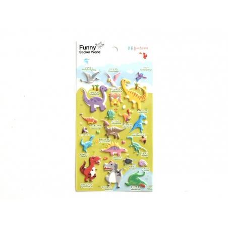 Acheter Stickers fantaisies - Dinosaures - 2,95€ en ligne sur La Petite Epicerie - Loisirs créatifs