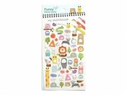 "Stickers - Animals / ""My sketchbook"""