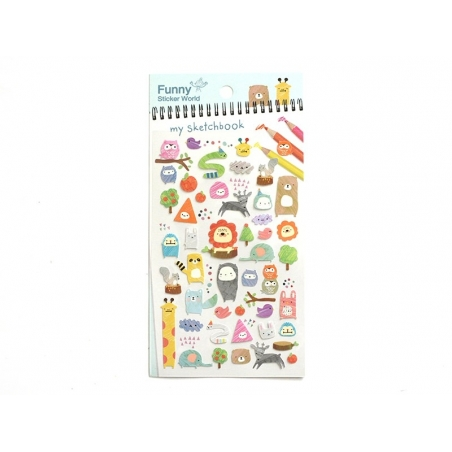 "Stickers - Animals / ""My sketchbook"""