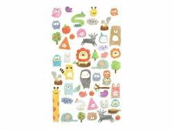 "Stickers fantaisies - Animaux ""My sketchbook"""