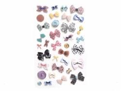 Stickers - bows (vintage look)