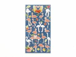 Stickers fantaisies - Flamants roses