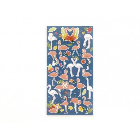 Acheter Stickers fantaisies - Flamants roses - 2,95€ en ligne sur La Petite Epicerie - 100% Loisirs créatifs