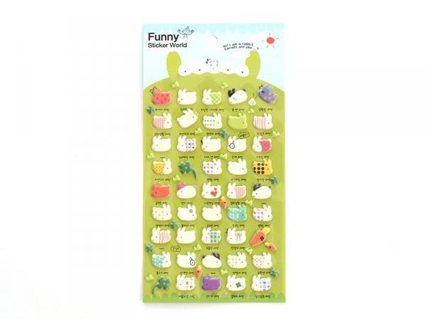 Acheter Stickers fantaisies - Mr Rabbit - 2,95€ en ligne sur La Petite Epicerie - Loisirs créatifs