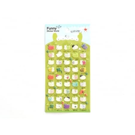 Acheter Stickers fantaisies - Mr Rabbit - 2,95€ en ligne sur La Petite Epicerie - 100% Loisirs créatifs