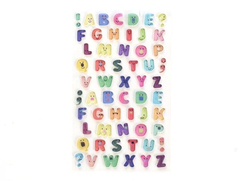 Acheter Stickers fantaisies - Jelly alphabet - 2,95€ en ligne sur La Petite Epicerie - Loisirs créatifs