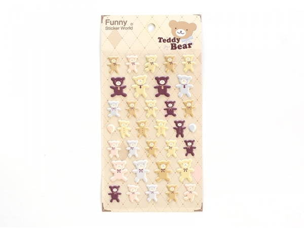 Stickers fantaisies - teddy bear