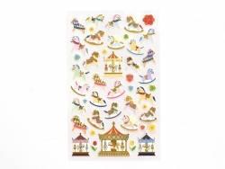 Acheter Stickers fantaisies - Carrousel - 2,95€ en ligne sur La Petite Epicerie - 100% Loisirs créatifs