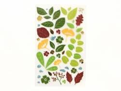 Stickers fantaisies - feuilles