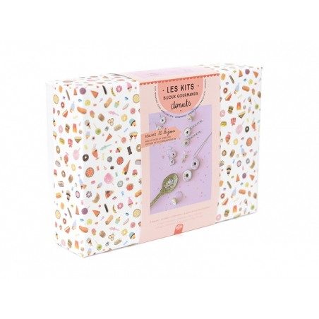 Acheter kit DIY mes bijoux gourmands - donuts - 24,99€ en ligne sur La Petite Epicerie - Loisirs créatifs