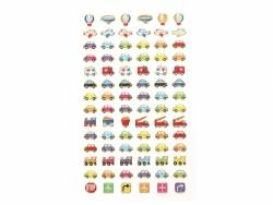 Stickers fantaisies - car