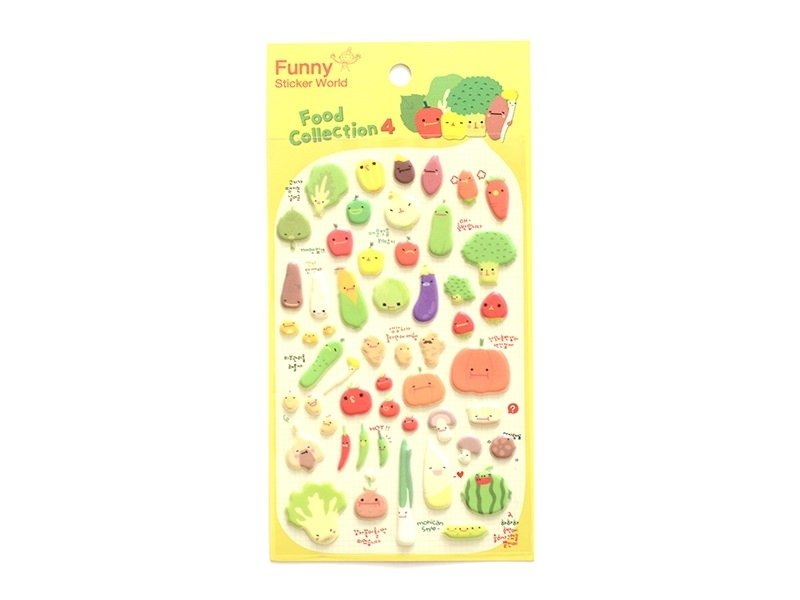 Stickers - vegetables