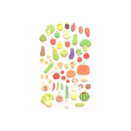 Stickers fantaisies - légumes  - 2