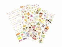 Sticker / Aufkleber - Deko für Fotoalben