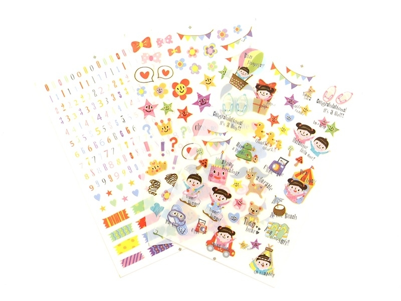 Stickers - decorations for a photo album