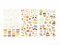 Stickers fantaisies - album déco