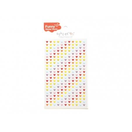 Acheter Stickers fantaisies - mini coeurs - 2,95€ en ligne sur La Petite Epicerie - Loisirs créatifs