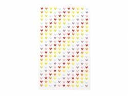 Stickers fantaisies - mini coeurs