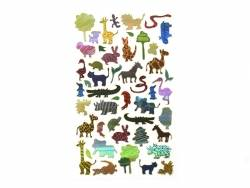 Stickers fantaisies - Plantes & animaux / Guess who am I ?