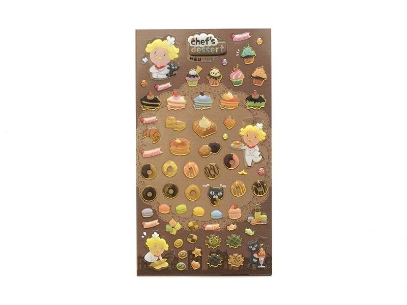 Stickers fantaisies - Chef's dessert  - 1